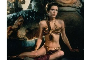Is this what comes to mind when you think of Princess Leia? Yeah, I thought so.