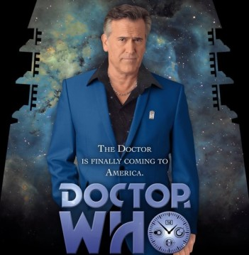 Bruce Campbell Doctor Who